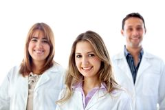 Group of doctors isolated Stock Photos