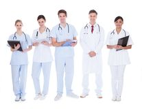 Group of doctors and nurses Stock Photos