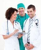 Group of Doctors working together Stock Images