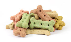 Group of dog biscuits Royalty Free Stock Photography