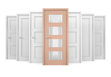 Group of doors Royalty Free Stock Photos