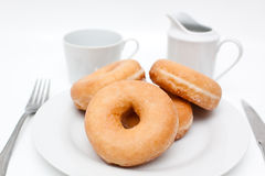 Group of doughnuts Royalty Free Stock Photo