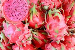 Group of dragon fruits Royalty Free Stock Image