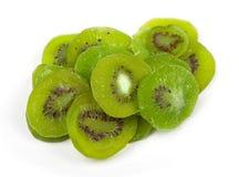 Group of dried kiwi fruit Royalty Free Stock Image