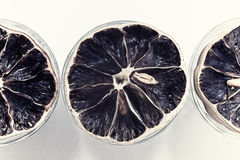 Group of dried lemons Stock Photo
