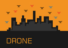 A group of drones Royalty Free Stock Photography