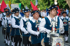 Group of drummers Stock Images
