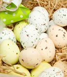 Group of easter eggs Stock Photo