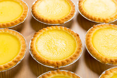Group of egg tart Stock Photo