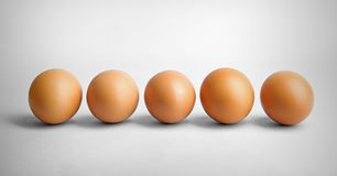 Group of eggs Royalty Free Stock Photography