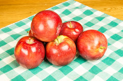 Group of Empire apples Stock Image