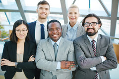 Group of employees Stock Image