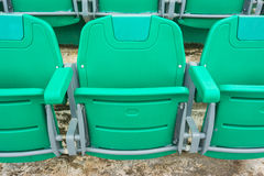 A group of empty seat or chair in stadium , theater or conxert Stock Images