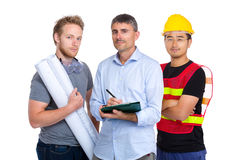 Group of engineer from different country Stock Images