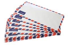 Group of envelopes Royalty Free Stock Photo