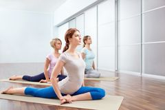 Group exercise Stock Photography