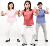 Group Exercise Stock Images