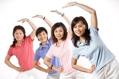 Group Exercise Royalty Free Stock Image