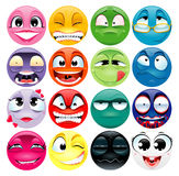 Group of expression. Funny and cartoon elements