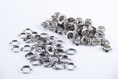 Group of eyelets Stock Photo