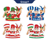Group F Euro 2016 Stock Images
