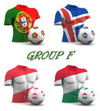 Group F European Football 2016 Stock Image