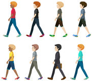 A group of faceless people Royalty Free Stock Image