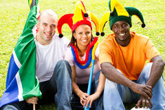 Group fans Royalty Free Stock Photo