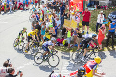Group of Favorites on Col du Glandon - Tour de France 2015 Stock Images