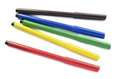 Group of felt pens Stock Image
