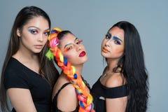 Female Fashion Models Royalty Free Stock Images