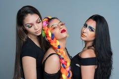 Female Fashion Models Stock Photography