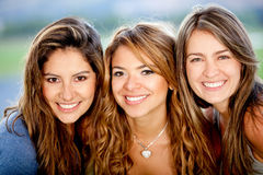 Group of female friends Royalty Free Stock Image