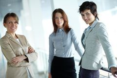 Group of females Stock Photo