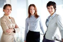 Group of females Royalty Free Stock Photo
