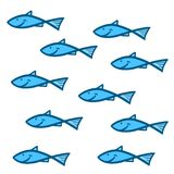 Group fish Stock Images