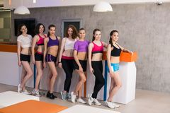 Group of fitness class Stock Photos