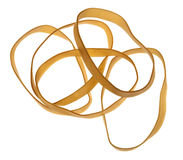 Isolated Rubber Bands Stock Image