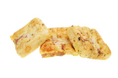 Group of focaccia bread Royalty Free Stock Image