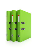 Group of folders Royalty Free Stock Photo