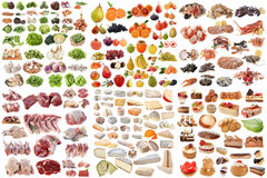 Group of food Royalty Free Stock Image