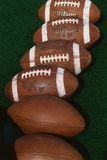 Group of footballs Royalty Free Stock Photo