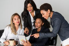 Group Of Four Businesswomen Royalty Free Stock Image
