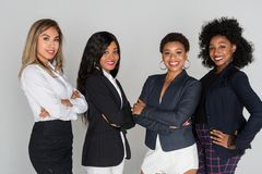Group Of Four Businesswomen Royalty Free Stock Images
