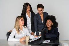 Group Of Four Businesswomen Royalty Free Stock Photo