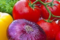 Group of frash vegetables Stock Images