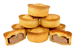 Group Of Fresh Baked Meat Pies Stock Images