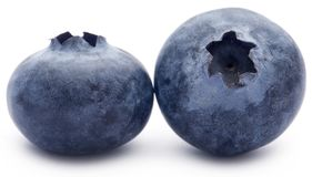Group of fresh blueberries Stock Photography