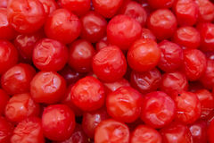 Group of fresh Dried cranberries. Dried cranberries use for background Royalty Free Stock Images
