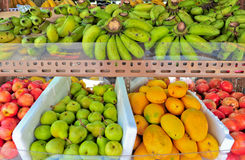 Group of fresh fruits Stock Photos